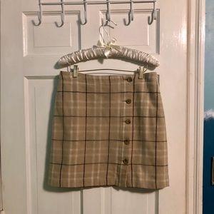 Adorable Banana Republic wool short skirt!